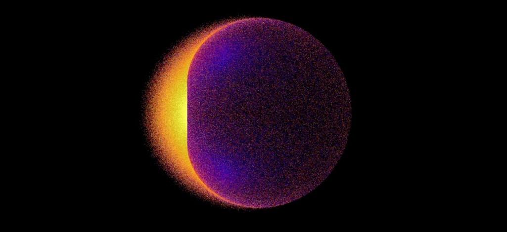 Promienie gamma uciekają z ergosfery czarnej dziury?