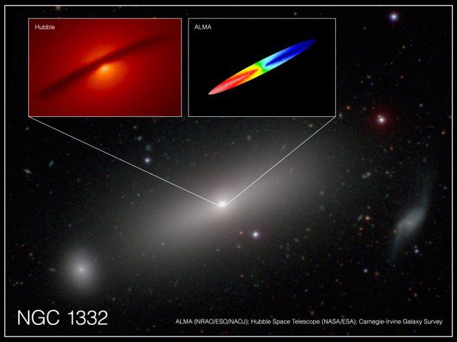 Radioteleskopy ALMA zmierzyły masę czarnej dziury z niesłychanie dużą dokładnością