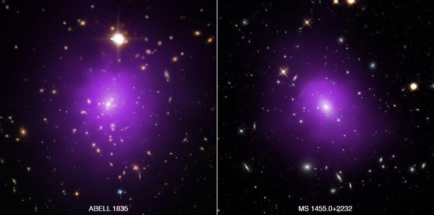 """Gromady galaktyk jak """"rosyjska lalka"""" ujawniają informacje na temat ciemnej energii"""