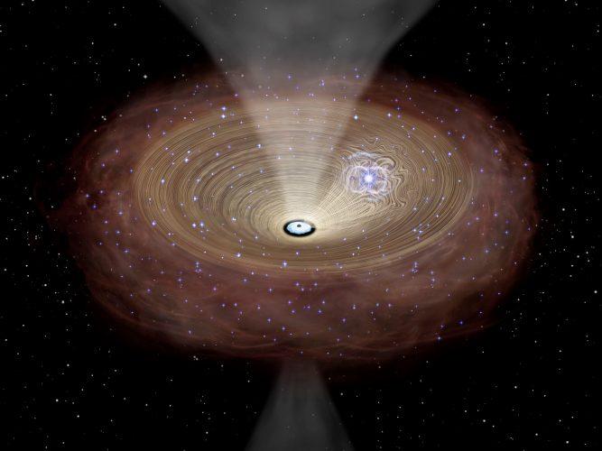 Rozwój supermasywnych czarnych dziur napędzany gęstymi gazowymi dyskami