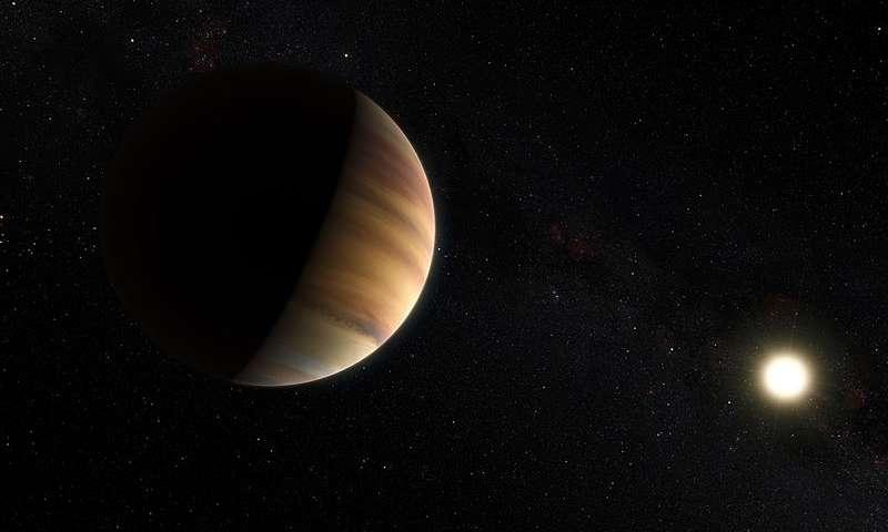 Wykryto wodę w atmosferze egzoplanety 51 Pegasi b