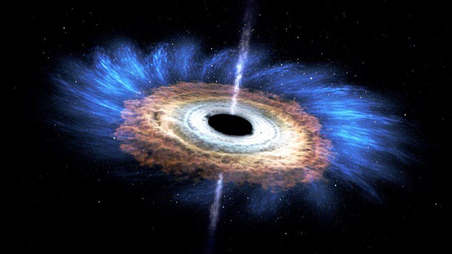 """Swift przedstawia """"spiralę śmierci"""" gwiazdy do czarnej dziury"""