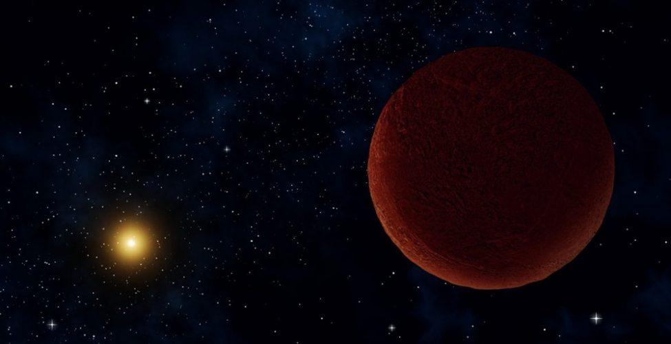 Słaby, odległy obiekt odkryty na krańcach Pasa Kuipera