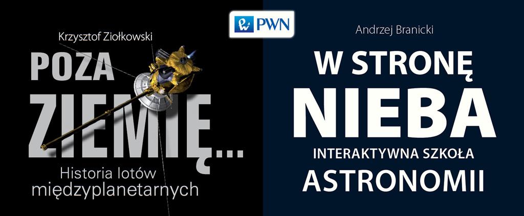Nowe książki dwóch czołowych polskich astronomów
