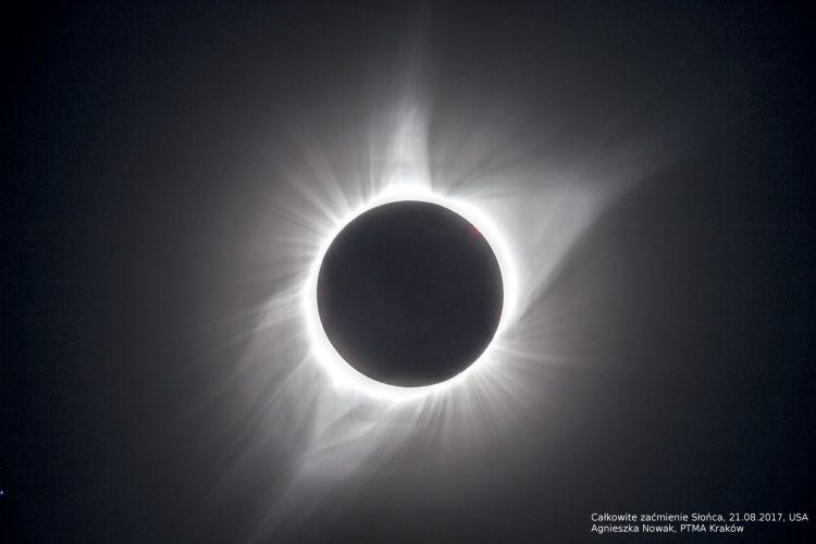 Całkowite zaćmienie Słońca, 21 sierpnia 2017, USA