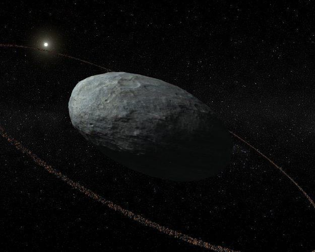 Planeta karłowata Haumea posiada pierścienie