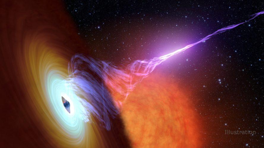 NuSTAR bada tajemnicę dżetów czarnych dziur