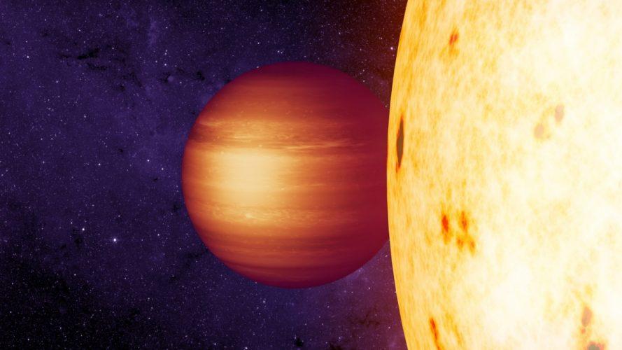 'Gorący Jowisz' z niezwykłymi wiatrami