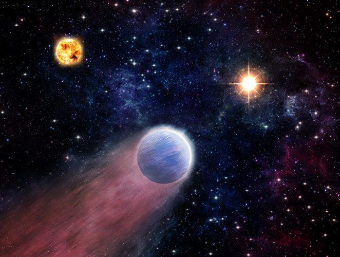 """Wybuchy czarnej dziury mogą przemieniać """"mini-Neptuny"""" w skaliste światy"""