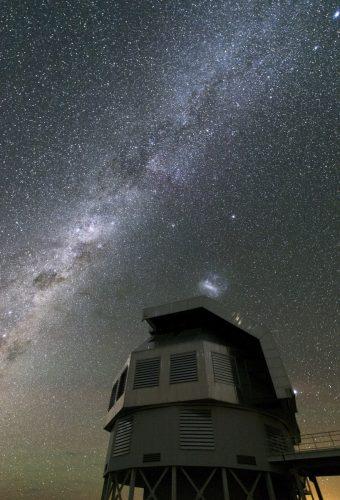 Uciekająca gwiazda w Małym Obłoku Magellana