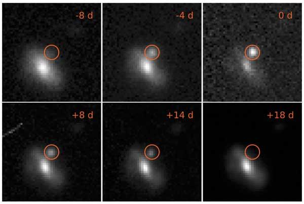 Szybka supernowa odkrywa swoje tajemnice