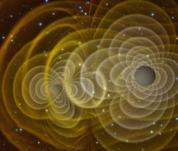 Słysząc kosmiczny szum zderzających się czarnych dziur