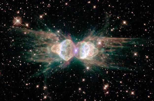 Kosmiczna Mrówka emituje wiązki laserowe
