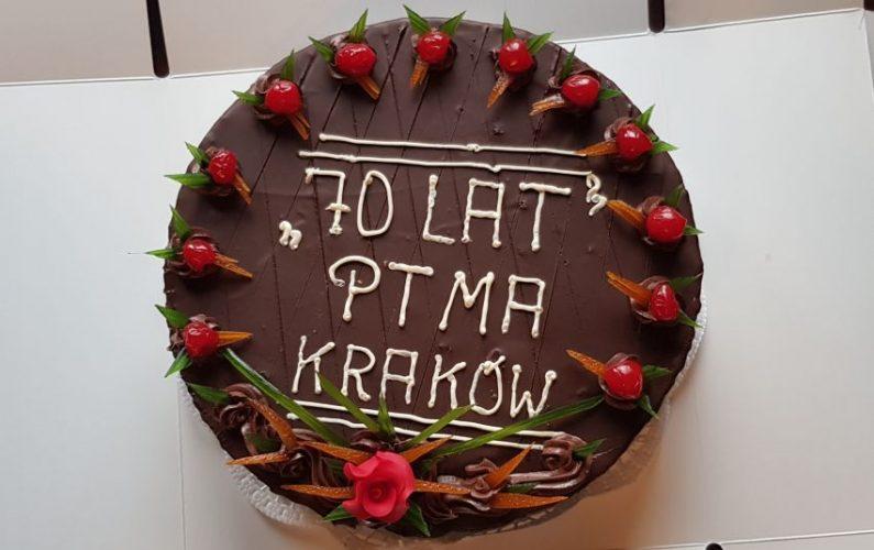 Jubileusz 70-lecia PTMA Kraków