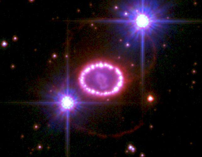 Zaobserwowano bezpośrednio pole magnetyczne pozostałości po supernowej 1987A