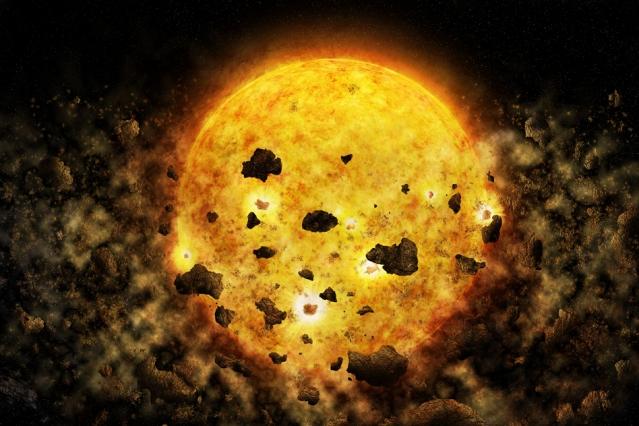 Dane z Chandra mogą być pierwszymi dowodami na gwiazdę pożerającą planetę