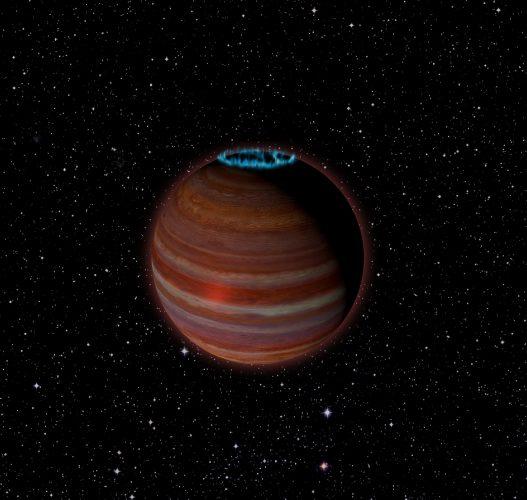Zaobserwowano obiekt, który jest na granicy olbrzymiej planety i brązowego karła