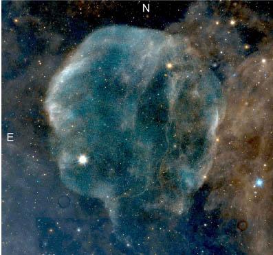 Astronomowie ustalają odległość do Pętli Łabędzia