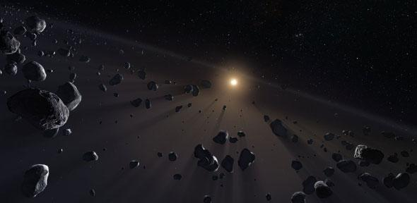 """Tajemnicze orbity obiektów transneptunowych nie są wywołane obecnością """"Dziewiątej Planety"""""""