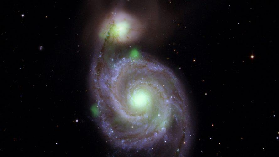 W zderzających się galaktykach maluszek świeci najjaśniej
