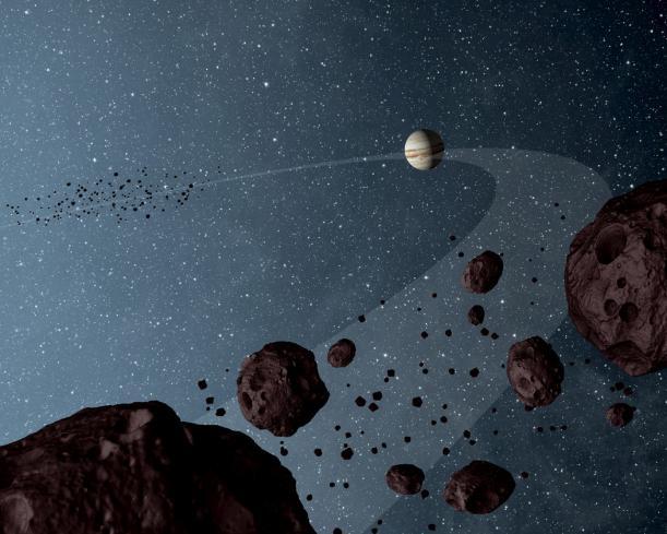 Niezwykła podróż Jowisza przez Układ Słoneczny