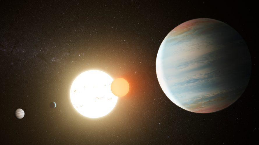 Astronomowie odkrywają trzecią planetę krążącą w układzie podwójnym Kepler-47