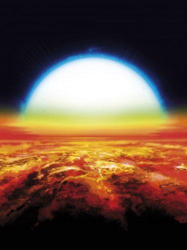 Metale ziem rzadkich w rozżarzonej atmosferze egzoplanety
