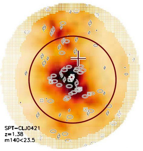 Stłumiony proces formowania się gwiazd we wczesnym Wszechświecie