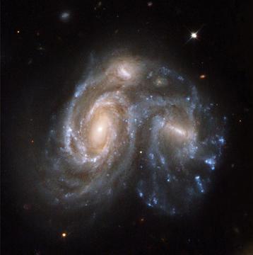 Masywna kolizja w przeszłości Drogi Mlecznej