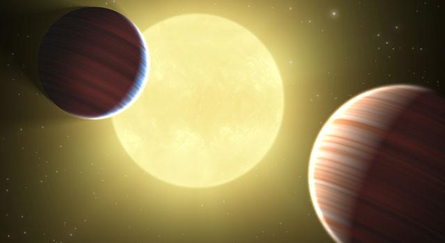 Potwierdzono niską gęstość niektórych egzoplanet