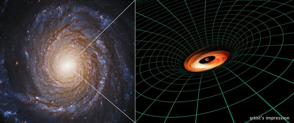 Hubble odkrywa dysk wokół czarnej dziury, który nie powinien istnieć