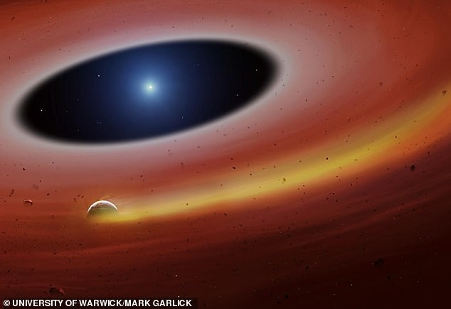 """Pozostałości planet przetrwały wystarczająco długo, aby """"dostroić się"""" do fal radiowych"""