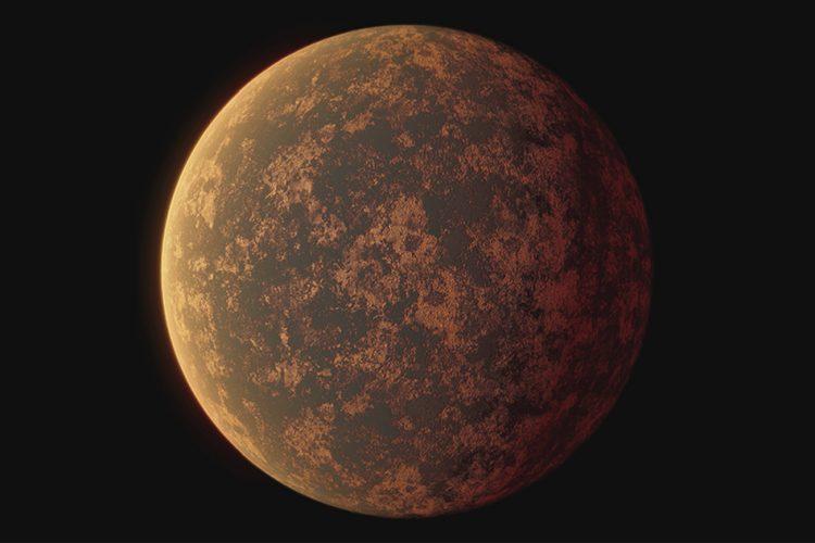 Skalista egzoplaneta wielkości Ziemi nie ma atmosfery