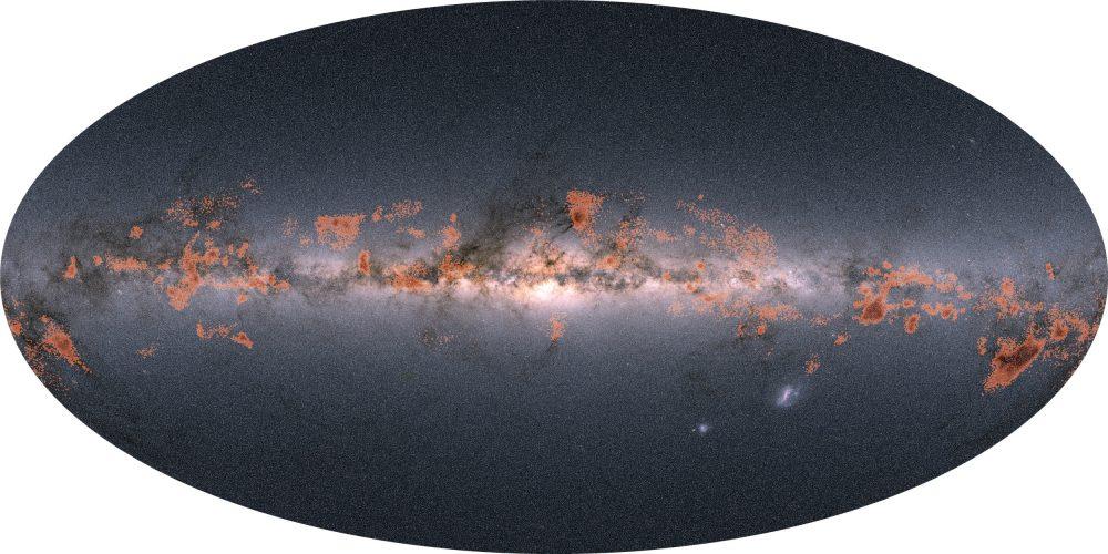 Gaia rozplątuje gwiezdne sznury Drogi Mlecznej