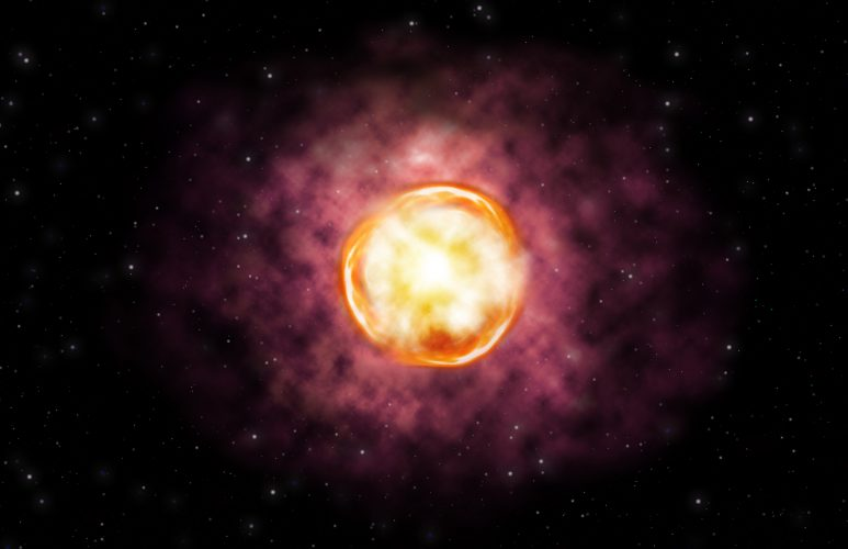 Całkowita anihilacja supermasywnej gwiazdy