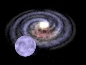 Czarna dziura o masie pośredniej rzuca gwiazdę przez Drogę Mleczną