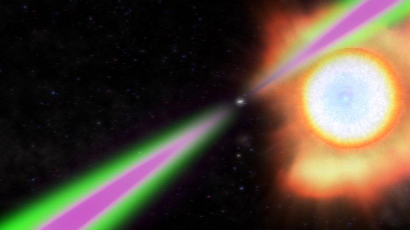 Pulsujące promieniowanie gamma z gwiazdy neutronowej wirującej 707 razy na sekundę