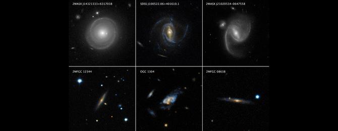 Ciemna materia rozpędza najmasywniejsze galaktyki spiralne do oszałamiających prędkości