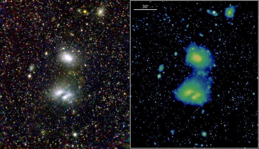 Pierwsze światło kosmicznego teleskopu rentgenowskiego eROSITA