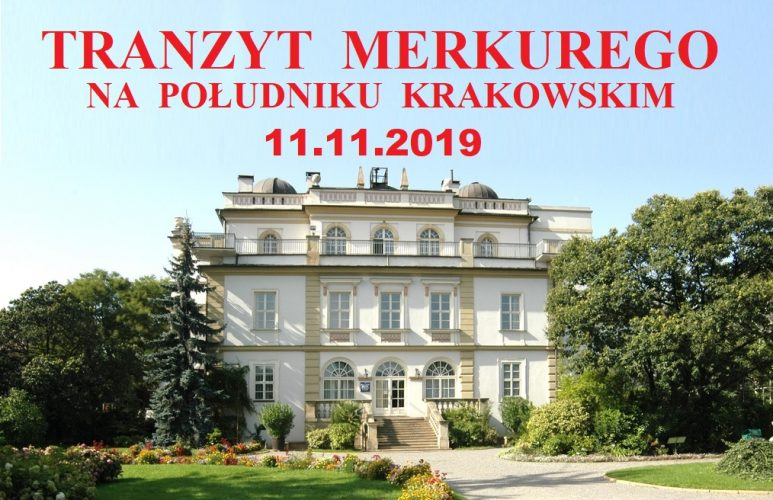 Obserwacja tranzytu Merkurego na krakowskim południku zerowym w Collegium Śniadeckiego.