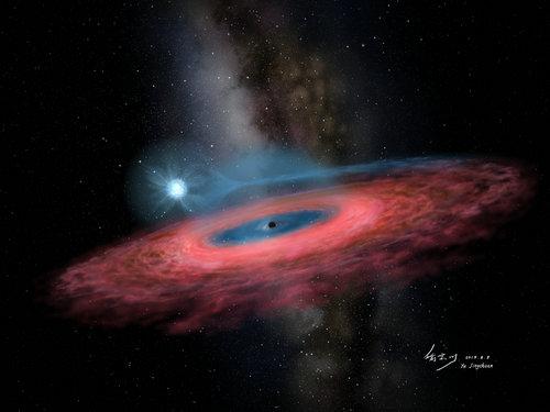 Gwiazdowa czarna dziura, której nie powinno być
