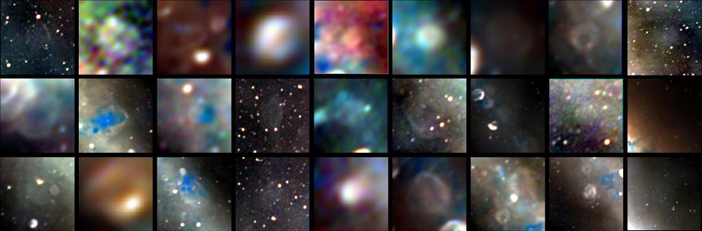 Radioteleskop odkrywa pozostałości martwych gwiazd w centrum Drogi Mlecznej