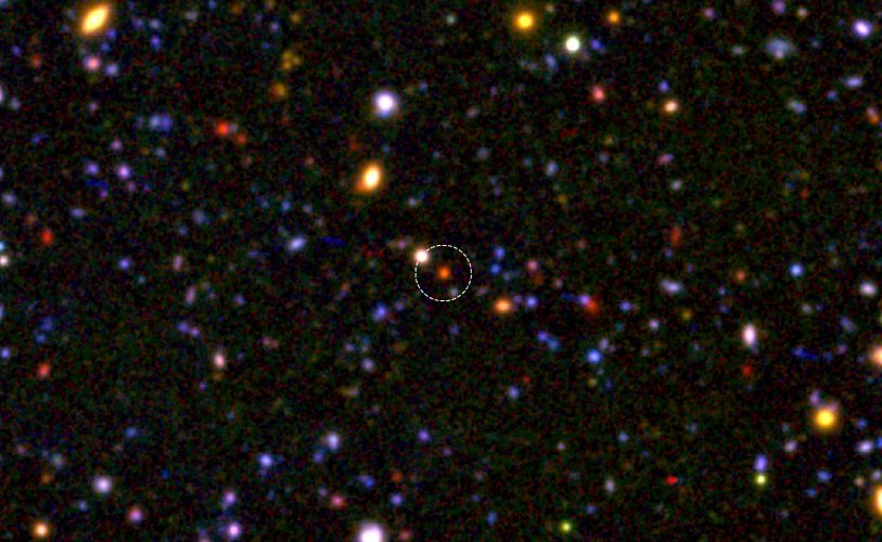 Jądra masywnych galaktyk powstały już 1,5 mld lat po Wielkim Wybuchu