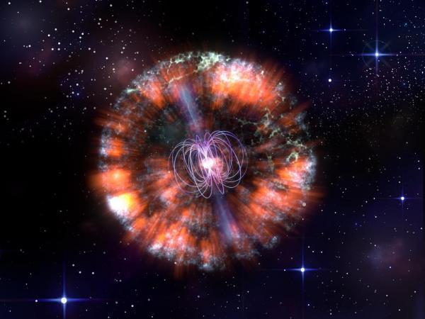 Kosmiczna Krowa wyjaśnia: sygnały radiowe wskazują na eksplozję i nowo narodzonego magnetara