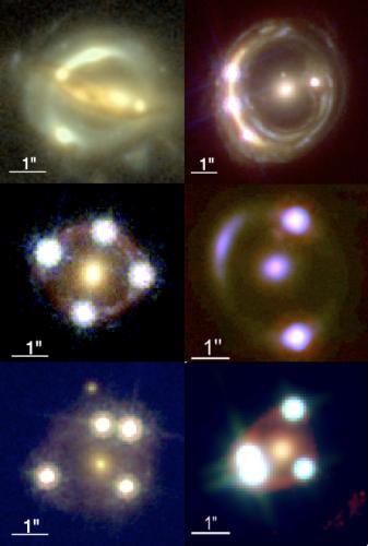 Kosmiczne szkła powiększające dają niezależne pomiary ekspansji Wszechświata