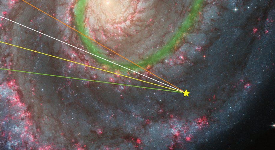 Gorący gaz zasila ramiona spiralne Drogi Mlecznej