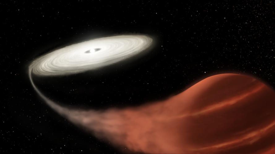 Teleskop Kepler świadkiem układu gwiazd przechodzącego potężny wybuch