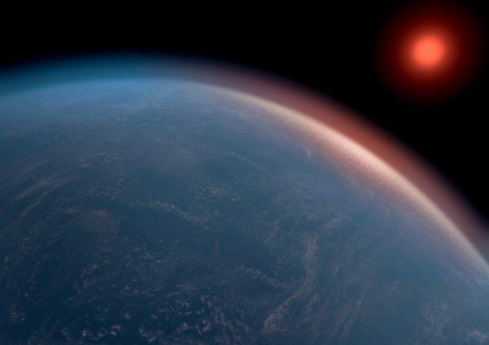 Duża egzoplaneta może mieć odpowiednie warunki dla życia