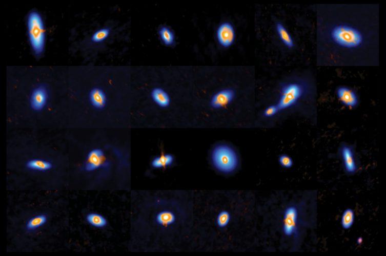 Jak nowonarodzone gwiazdy przygotowują się na narodziny planet