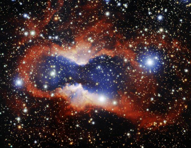 Teleskop Gemini South uchwycił efektowną mgławicę planetarną